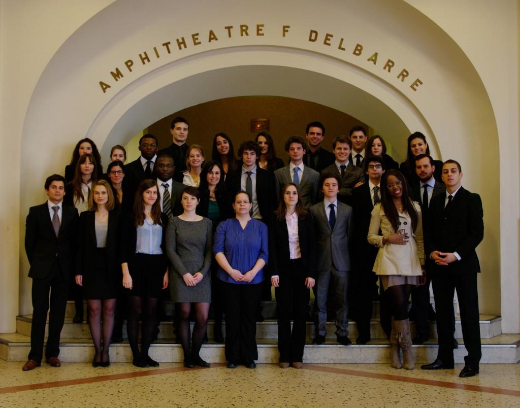 Juriste d'affaires Paris Descartes 2011/2012